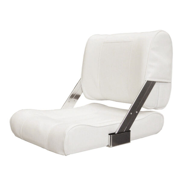 Springfield Flip-Back Chair With Slide, White