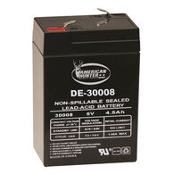 American Hunter 6 Volt 4.5 Amp HR Rechargeable Battery