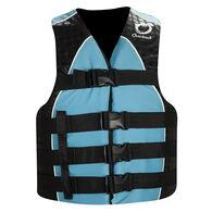 Overton's Women's Nylon 4-Buckle Life Vest - Blue - L/XL