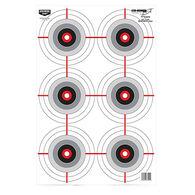 Birchwood Casey Eze-Scorer Multi-Bullseye Target, 10 Pk.