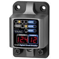 TRAC Digital Circuit Breaker With LED Display, 10-25 Amps