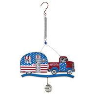 Patriotic Bouncy Patio Decor