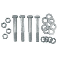Galvanized Thru Bolt Mounting Hardware Kit