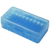 MTM 50 Rd. Blue Flip-Top Ammo Box, .44 Cal.
