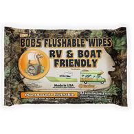 Bob's Flushable Wipes, RV & Boat Friendly