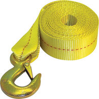 Heavy-Duty Winch Strap, 2 x 20