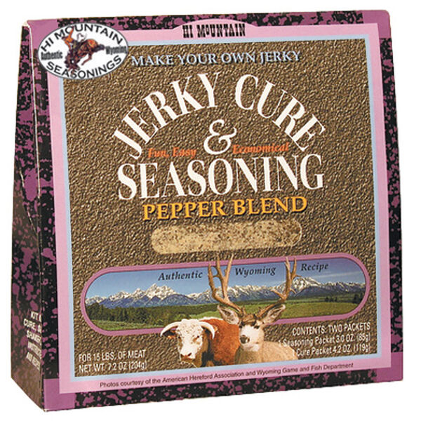 Hi Mountain Seasonings Jerky Cure & Seasoning Kit, Pepper