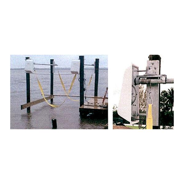 Lunmar Piling-Mount 4,200-lb. Capacity Boat Sling Lift