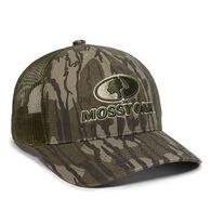 Mossy Oak Embroidered Logo Camo Mesh-Back Cap