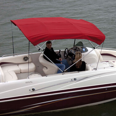 Shademate Polyester Stainless 4-Bow Bimini Top 8'L x 42''H 67''-72'' Wide