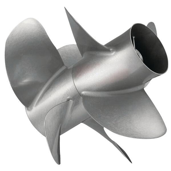 Quicksilver Thunderbolt DPS 4-Bl Propeller / SS, 14.3 dia x 21, RH