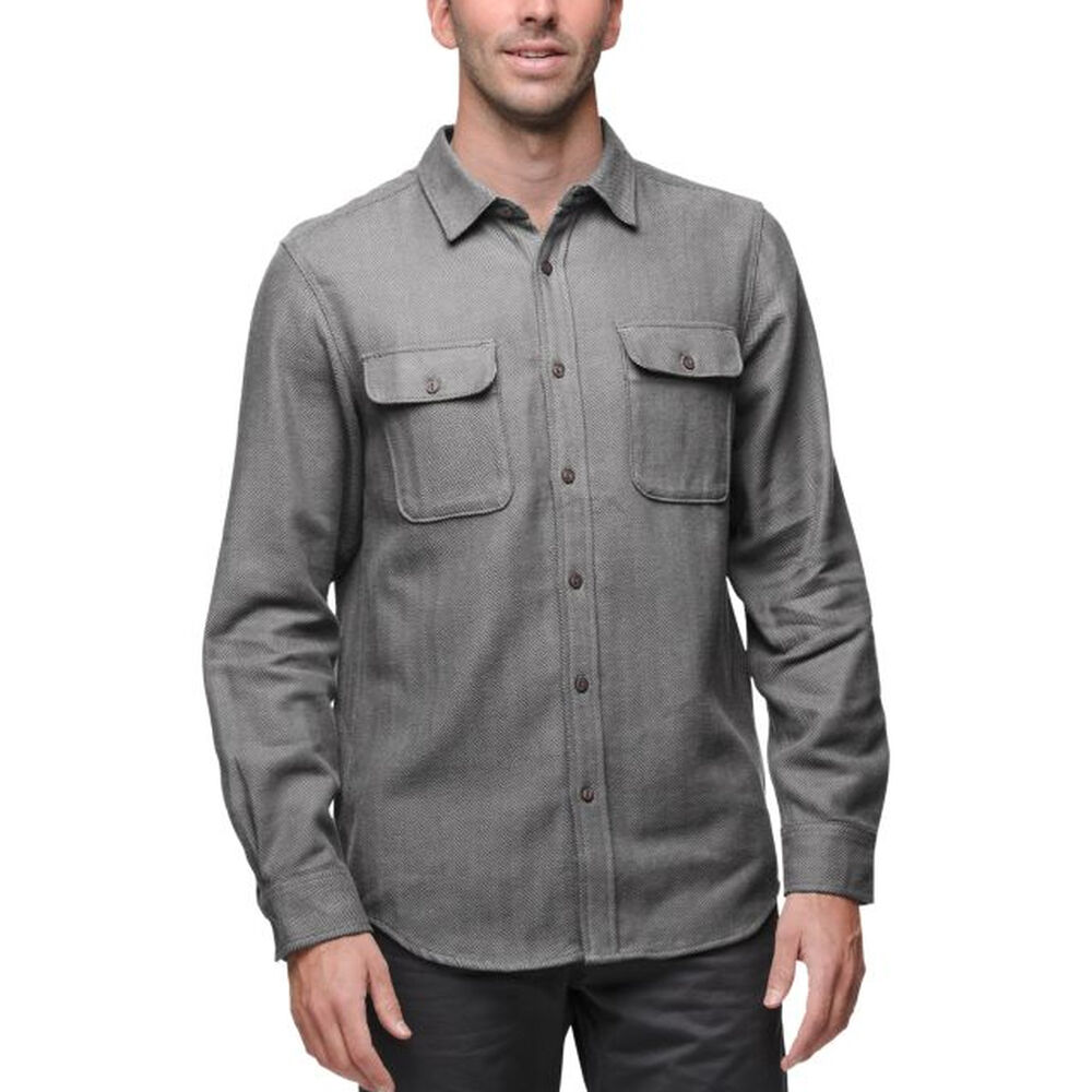 3e1294f71 The North Face Men's Hitchline Herringbone Long-Sleeve Shirt