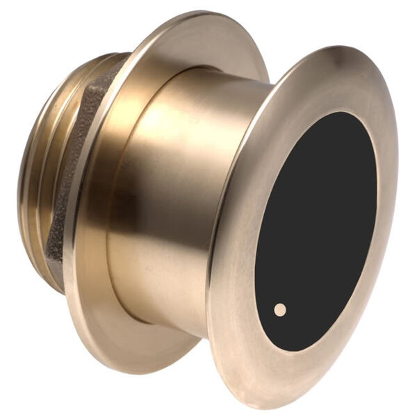 Garmin B164 20° Tilted Element Bronze Thru-Hull Transducer
