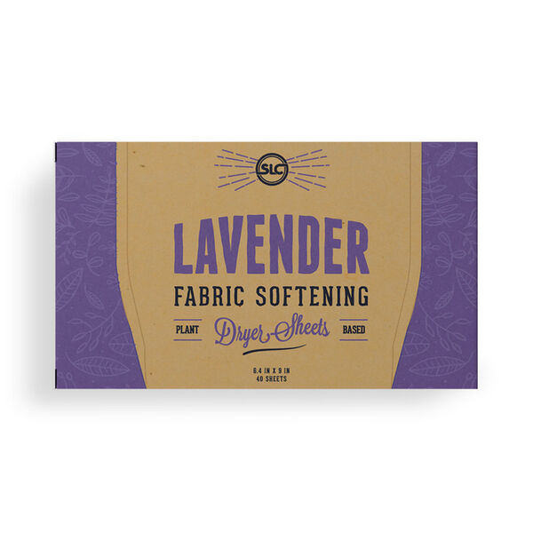 Sheets Laundry Club Fabric Softening Dryer Sheets, Lavender, 40 Sheets