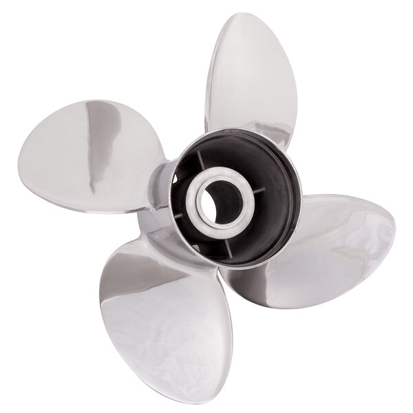 Solas Rubex HR4 4-Blade Propeller, Exchangeable Hub / SS, 13 dia x 19, LH