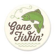 Gone Fishin' Big Magnet