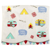 Happy Camper Dish Towel
