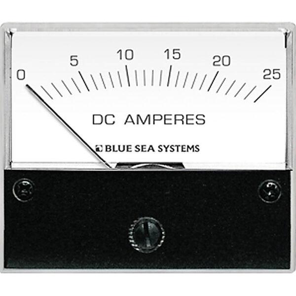 Blue Sea DC Analog Ammeter, 0-25A