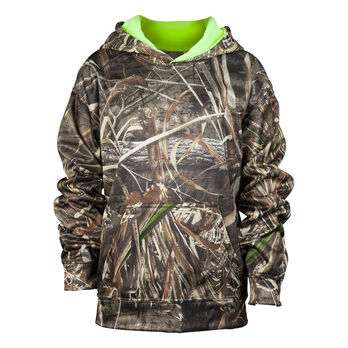 7c7ee4f596ede Mossy Oak Youth Camo Pullover Hoodie | Gander Outdoors