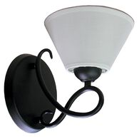 Savannah Pin Up Light, Matte Black
