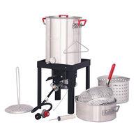 Creole Feast Turkey and Fish Fryer Boiler Steamer Set