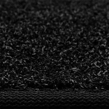 "Prest-O-Fit Decorian 10"" x 23.5"" Step Hugger for RV Landings, Obsidian Black, Each"