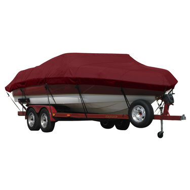 Exact Fit Covermate Sunbrella Boat Cover for Calabria V-Drive V-Drive Doesn't Cover Platform W/Tower Up Or Down