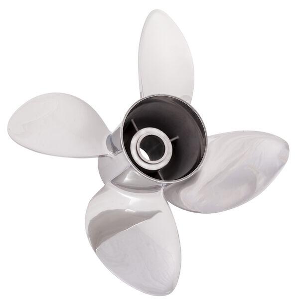 Solas Rubex L4 4-Blade Propeller, Exchangeable Hub / SS, 15.25 dia x 18, LH