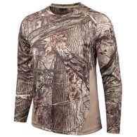 Huntworth Men's Bird's Eye Mesh Long-Sleeve Shirt, Hidd'n Camo