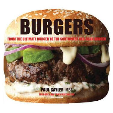 Burgers Book by Paul Gayler