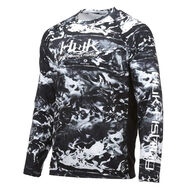 HUK Men's Pursuit Camo Vented Long-Sleeve Tee