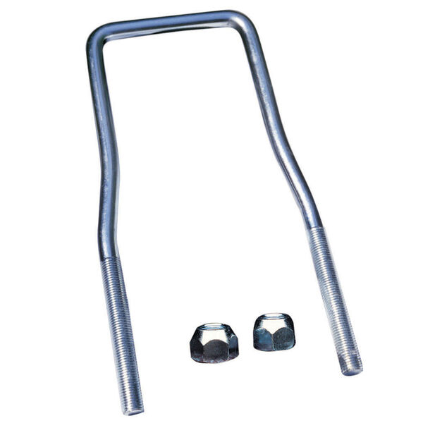 Tie Down U-Bolt Spare Tire Carrier without Brackets