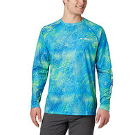 Columbia Men's PFG Super Terminal Tackle Printed Long-Sleeve Shirt