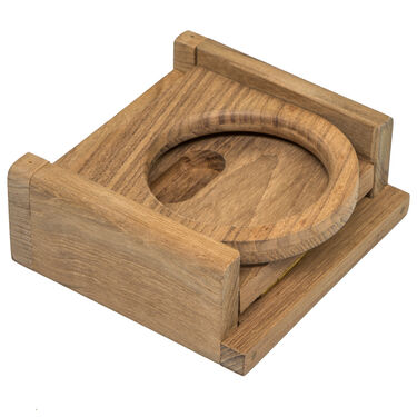 Whitecap Teak Teak Folding Drink Holder