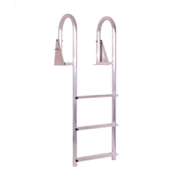 Dockmate Wide 3-Step Flip-Up Dock Ladder
