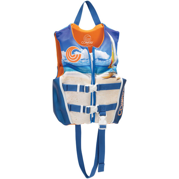 Connelly Child Classic Neoprene Life Jacket, blue
