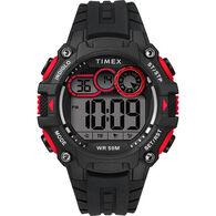 Timex Men's Big Digit DGTL 48mm Watch, Red/Black