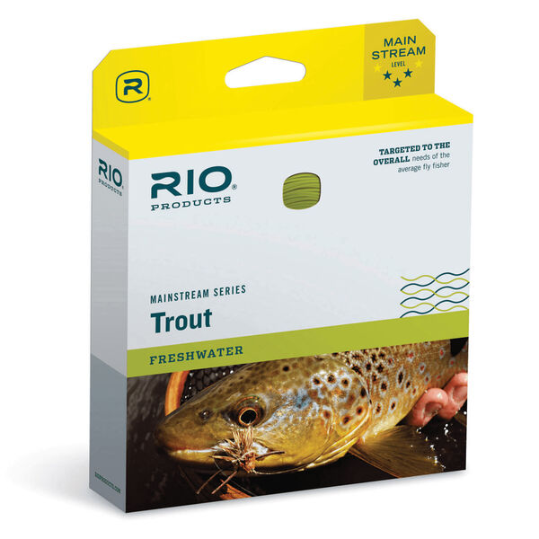 RIO Mainstream Trout Weight-Forward Fly Line