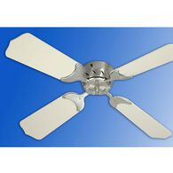 "36"" 12V Ceiling Fan - Satin Nickel/White"