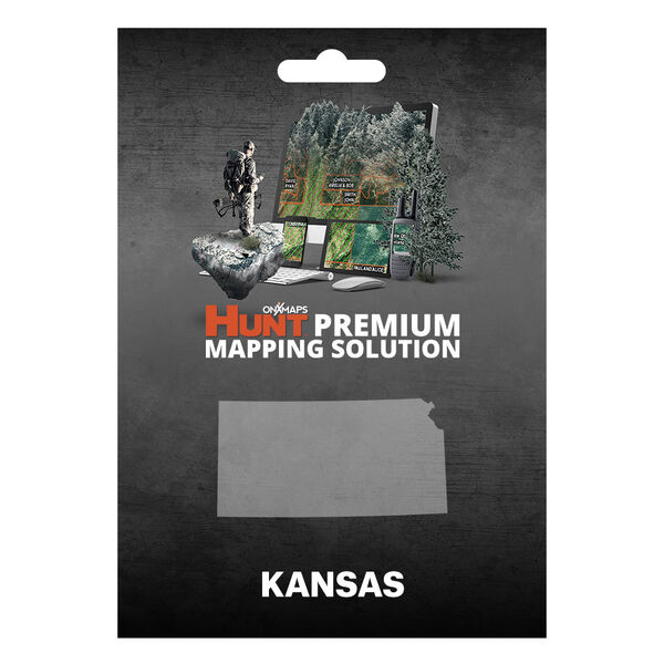 onXmaps HUNT GPS Chip for Garmin Units + 1-Year Premium Membership, Kansas