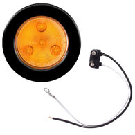 "Optronics LED 2-1/2"" Round Marker And Clearance Light With Multiple Diodes, Amber"