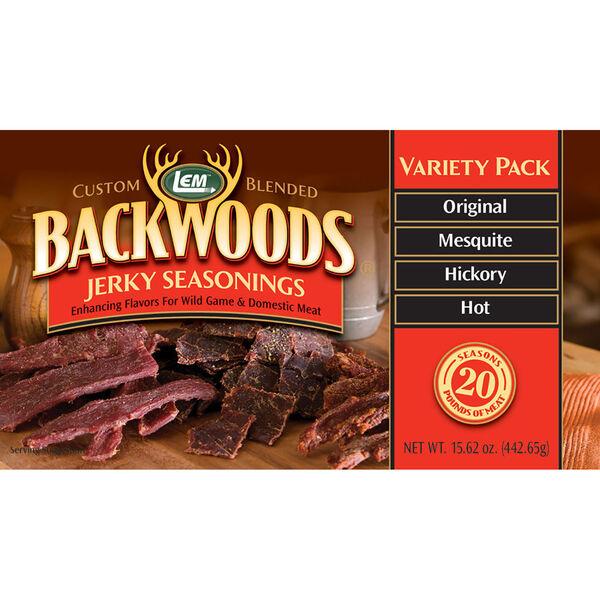 LEM Backwoods Jerky Seasoning Variety Pack #1