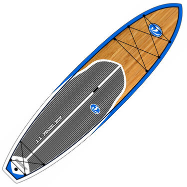 California Board Company 11' Fishing Stand-Up Paddleboard With Tackle Rack