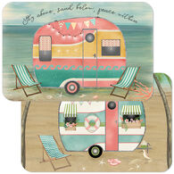 Reversible Decofoam Sunset Camper Placemat, each