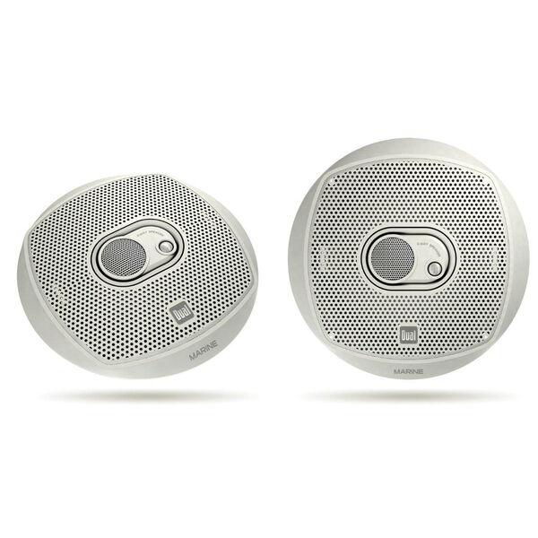 """Dual DMS365 6.5"""" 3-Way Marine Speakers, pair"""