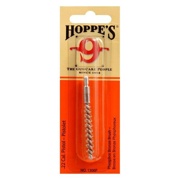 Hoppe's Phosphor Bronze Handgun Bore Brush, .22 Cal.
