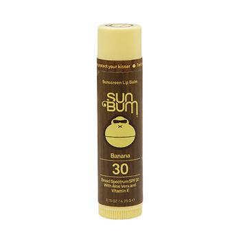 Sun Bum Banana Lip Balm, 30 SPF