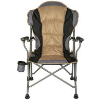 Deluxe Padded Folding Chair, Brown
