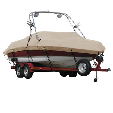 Sharkskin Cover For Malibu Sunscape 23 Lsv W/Swoop Tower Doesn t Cover Platform