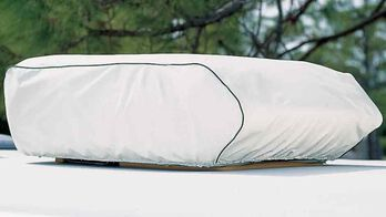 "Dometic Air Conditioner Cover, Polar White, Brisk Air 10 1/2"" - 12 1/2""H"